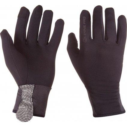 Softshellové rukavice ALPINE PRO Extreme Dag černá