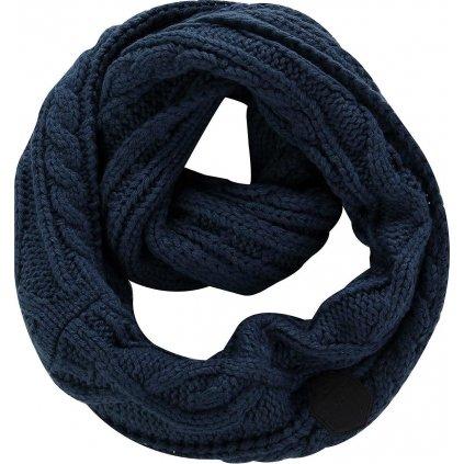 Pletená šála ALPINE PRO Gozone modrá
