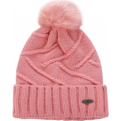 Dámská zimní čepice ALPINE PRO Mania 3 růžová