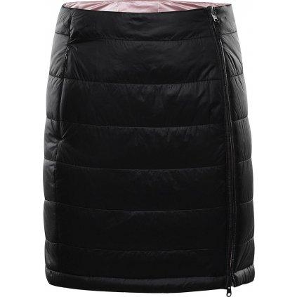 Dámská oboustranná sukně ALPINE PRO Trinity 7 černá/růžová