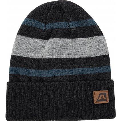 Zimní čepice ALPINE PRO Bakarne černá
