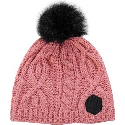 Zimní čepice ALPINE PRO Garbine růžová