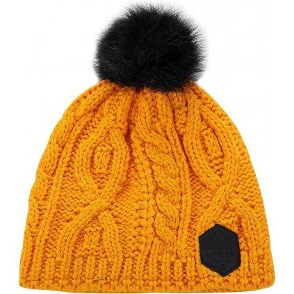 Zimní čepice ALPINE PRO Garbine oranžová
