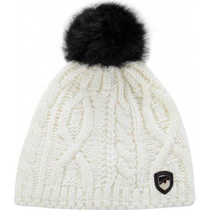 Zimní čepice ALPINE PRO Garbine bílá