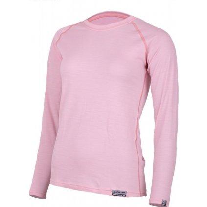 Dámské merino triko LASTING Atila růžová