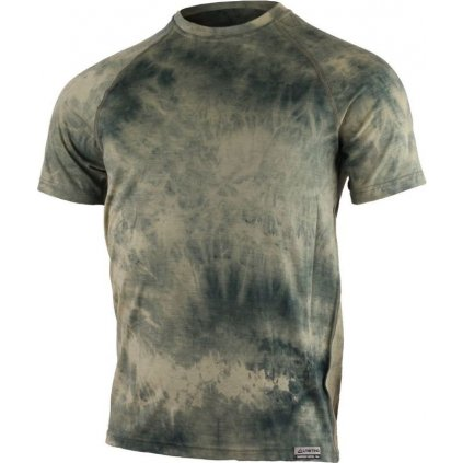 Pánské merino triko LASTING Bukas zelené