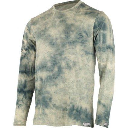 Pánské merino triko LASTING Bolon zelené