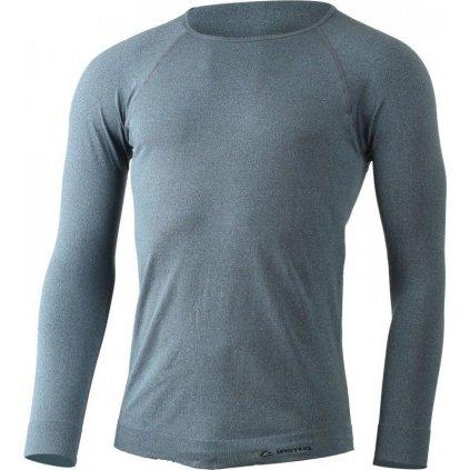 Pánské funkční triko LASTING Mol modrý melír