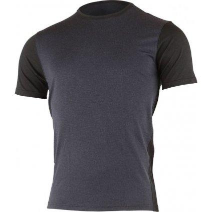 Pánské merino triko LASTING Lubo modré