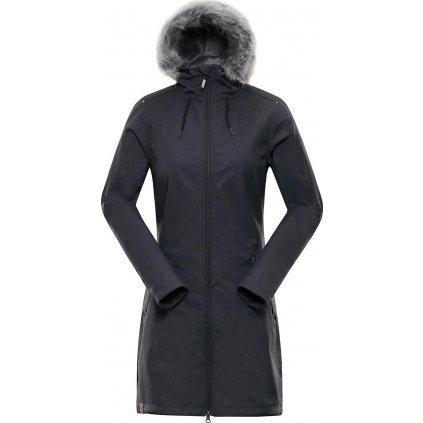 Dámský softshellový kabát ALPINE PRO Priscilla 4 Ins. šedá