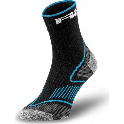 Cyklistické ponožky R2 Challenge černé