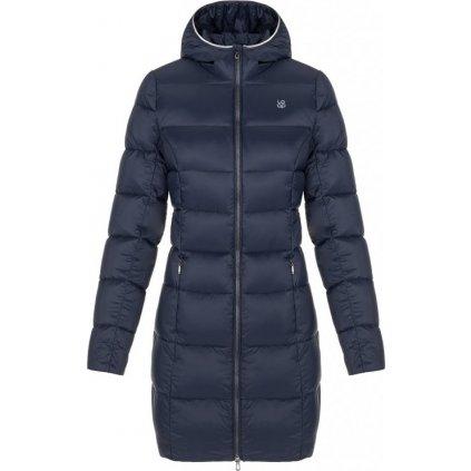 Dámský péřový kabát LOAP Ipiza modrá