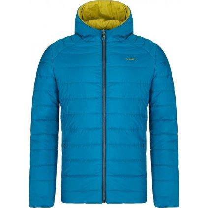 Pánská oboustranná zimní bunda LOAP Irdos modrá/zelená