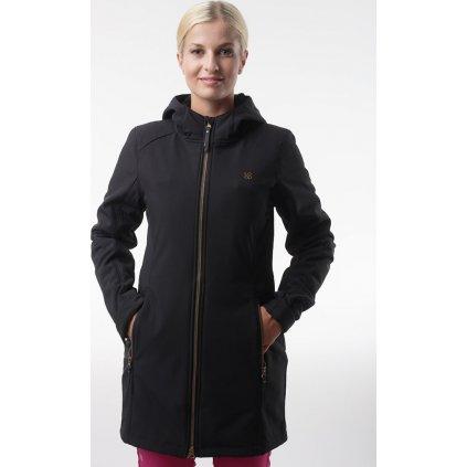 Dámský softshellový kabát LOAP Lywiena černá