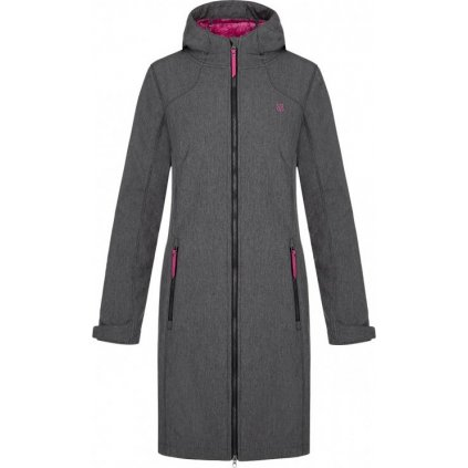 Dámský softshellový kabát LOAP Lypiamel šedá