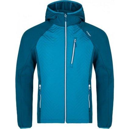 Pánská softshellová bunda LOAP Urtis modrá