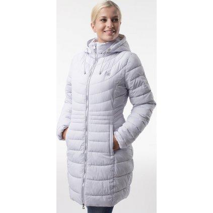Dámský zimní kabát LOAP Jerba šedá