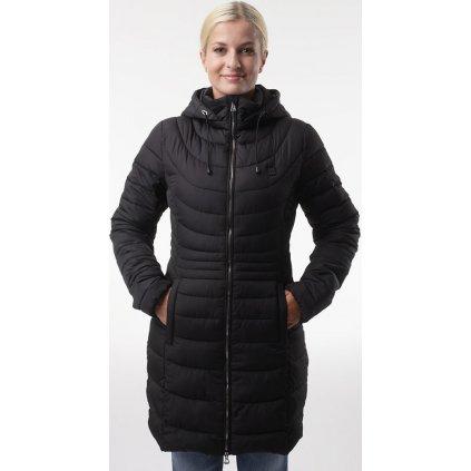 Dámský zimní kabát LOAP Jerba černá