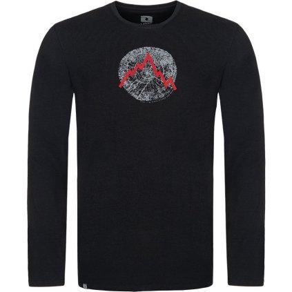 Pánské bavlněné triko LOAP Albert černá