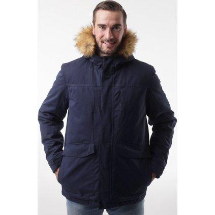 Pánský zimní kabát LOAP Natan modrá