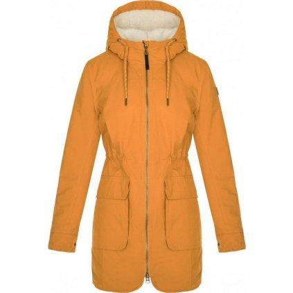 Dámský zimní kabát LOAP Natali oranžová