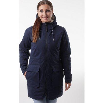 Dámský zimní kabát LOAP Natali modrá