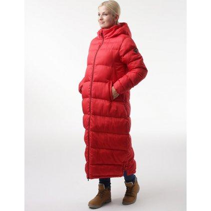 Dámský zimní kabát LOAP Tamira červená