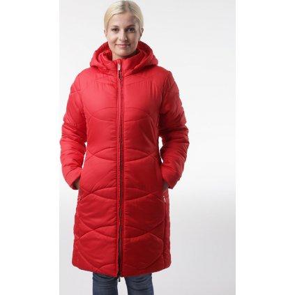 Dámský zimní kabát LOAP Talisa červená