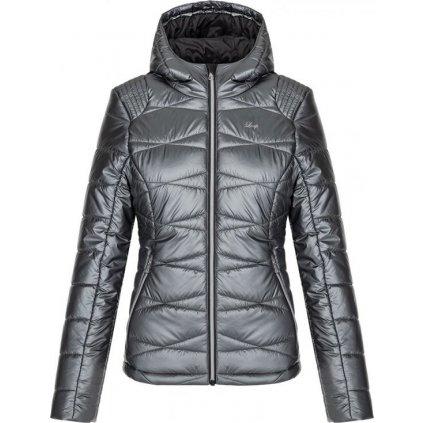Dámská lyžařská bunda LOAP Okma šedá