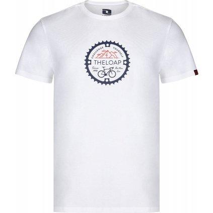 Pánské bavlněné triko LOAP Alger bílá
