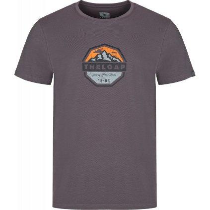 Pánské triko LOAP Altair šedá