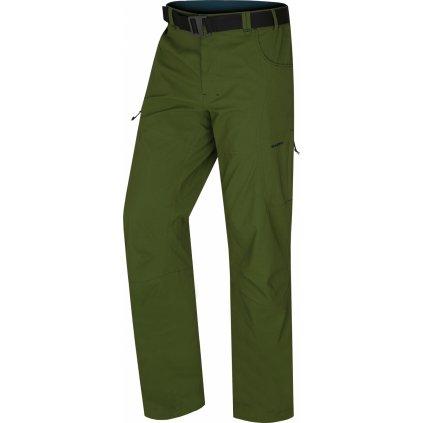 Pánské outdoorové kalhoty HUSKY Kahula M tm.zelená