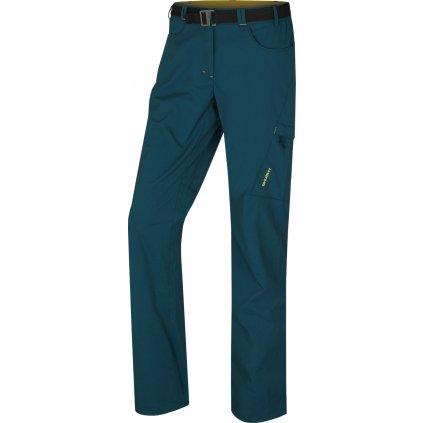 Dámské outdoorové kalhoty HUSKY Kahula L tm. tlumená tyrkysová