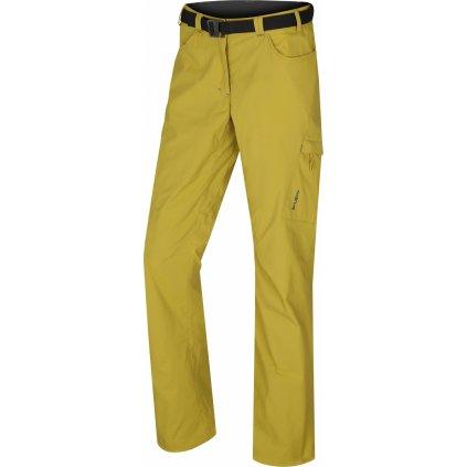 Dámské outdoorové kalhoty HUSKY Kahula L žlutozelená