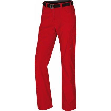 Dámské outdoorové kalhoty HUSKY Kahula L jemná červená