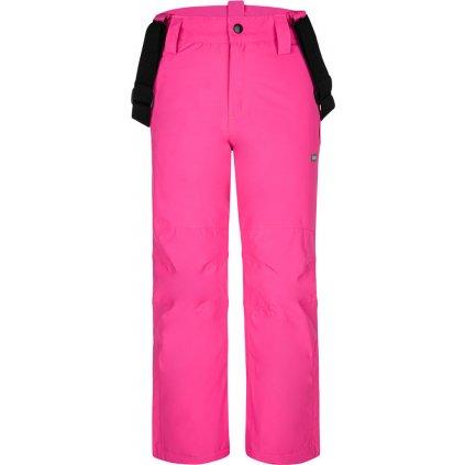 Dětské lyžařské kalhoty LOAP Fuxi růžová