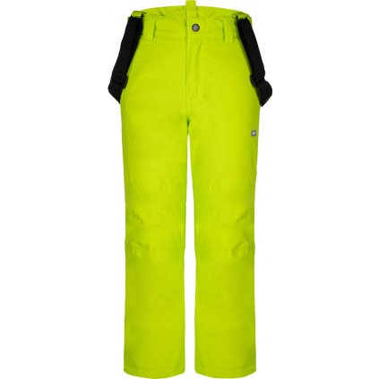 Dětské lyžařské kalhoty LOAP Fuxi zelená
