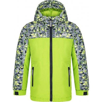 Dětská zimní bunda LOAP Cugio zelená