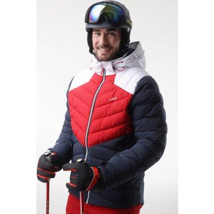 Pánská lyžařská bunda LOAP Olto modrá/červená