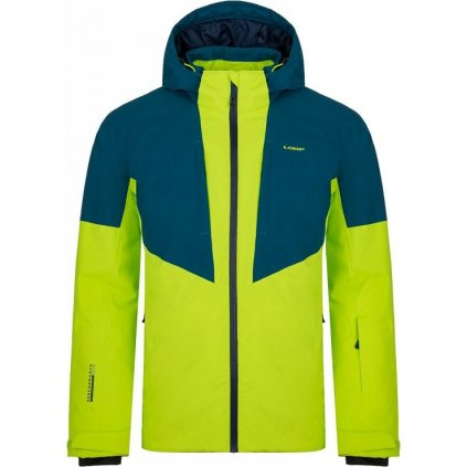 Pánská lyžařská bunda LOAP Flin zelená/modrá