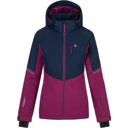 Dámská lyžařská bunda LOAP Floe modrá/fialová