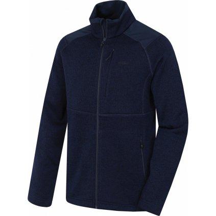 Pánský fleecový svetr HUSKY Alan M námořnická