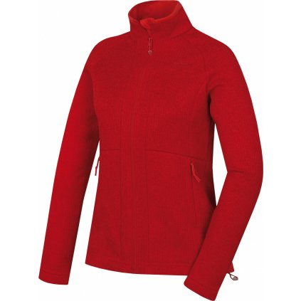 Dámský fleecový svetr HUSKY Alan L jemná červená