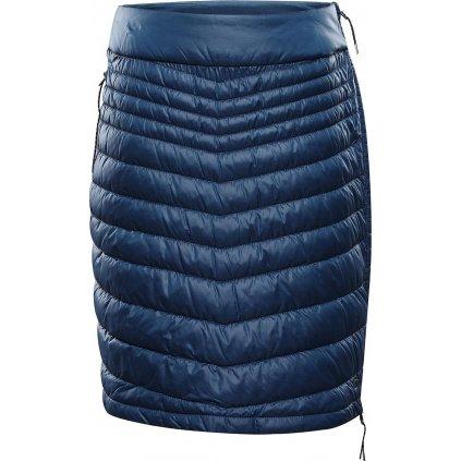 Dámská zateplená sukně ALPINE PRO Elmara modrá