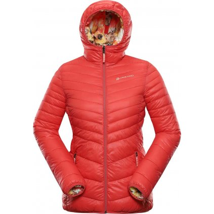 Dámská oboustranná zimní bunda ALPINE PRO Idika růžová