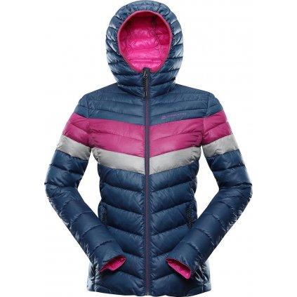 Dámská zimní bunda ALPINE PRO Merva modrá