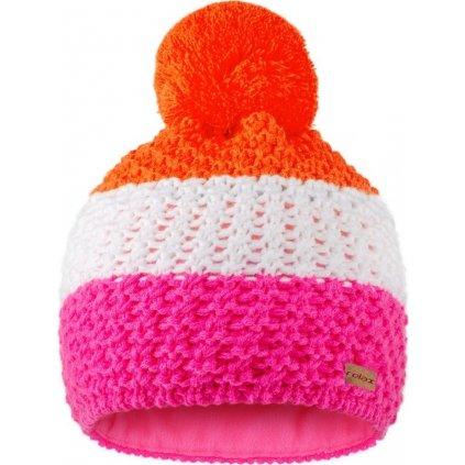 Zimní čepice RELAX Bar růžová