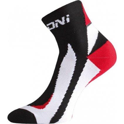 Funkční cyklo ponožky LASTING Bs40 černé