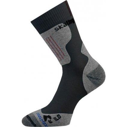 Funkční inline ponožky LASTING Ilb černé