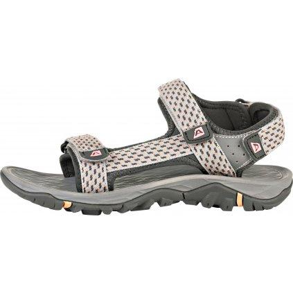 Dámské letní sandály ALPINE PRO Benne šedá